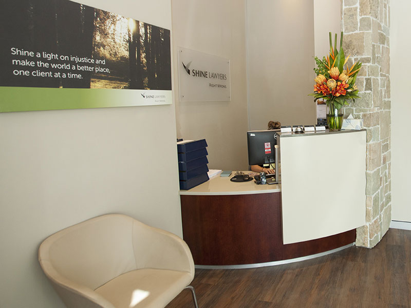 Shine Lawyers Helensvale Office