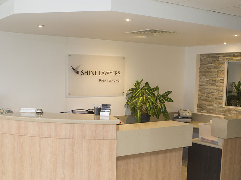 Shine Lawyers Mackay Office