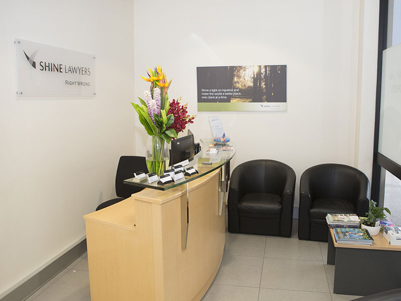 Shine Lawyers Maroochydore Office