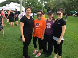 Cairns staff at the QLD Legal Walk