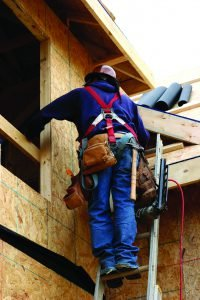 Builder on Ladder iStock_978054