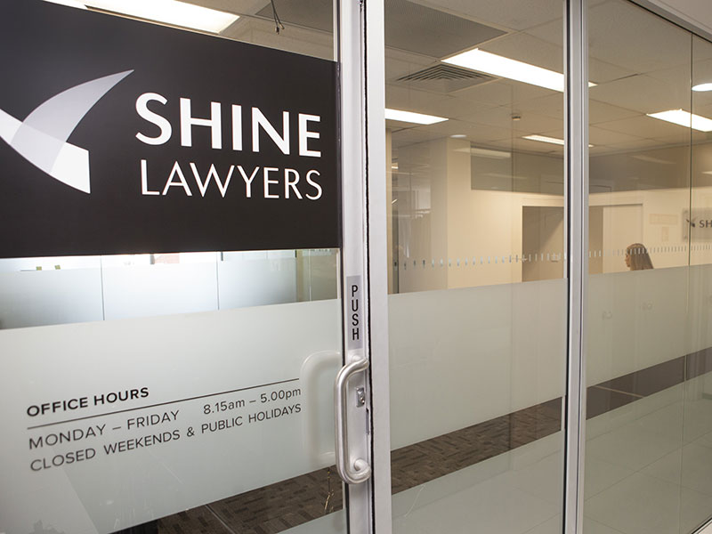 Shine Lawyers Auburn Office