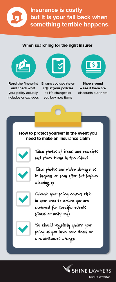 Home Insurance Infographic
