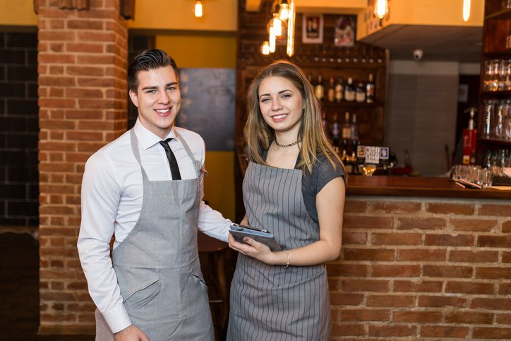 Casual staff in a restaurant | Shine Lawyers